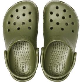Crocs Classic Clogsit Lapset, army green